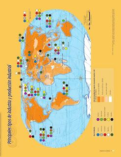 Apoyo Primaria Atlas de Geografía del Mundo 5to. Grado Capítulo 4 Lección 2 Principales Tipos de Industria y Producción Industrial