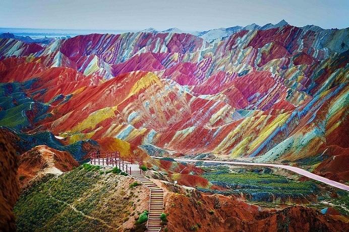 Zhangye Danxia, Pemandangan Alam Seindah Lukisan