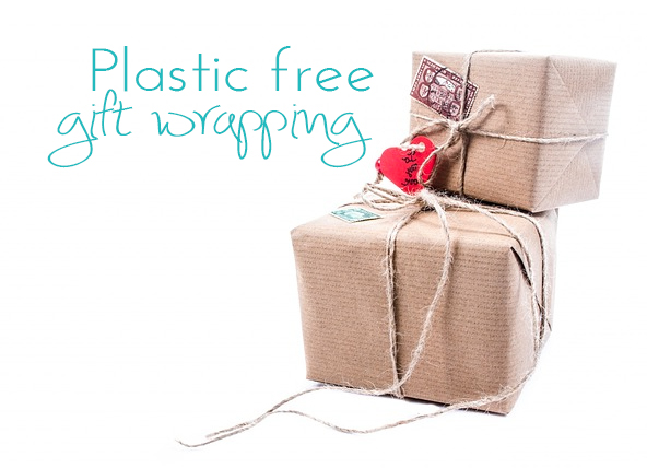 Wrap your presents plastic free