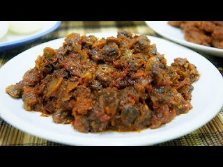 Resep Masakan Rendang kerang jengkol
