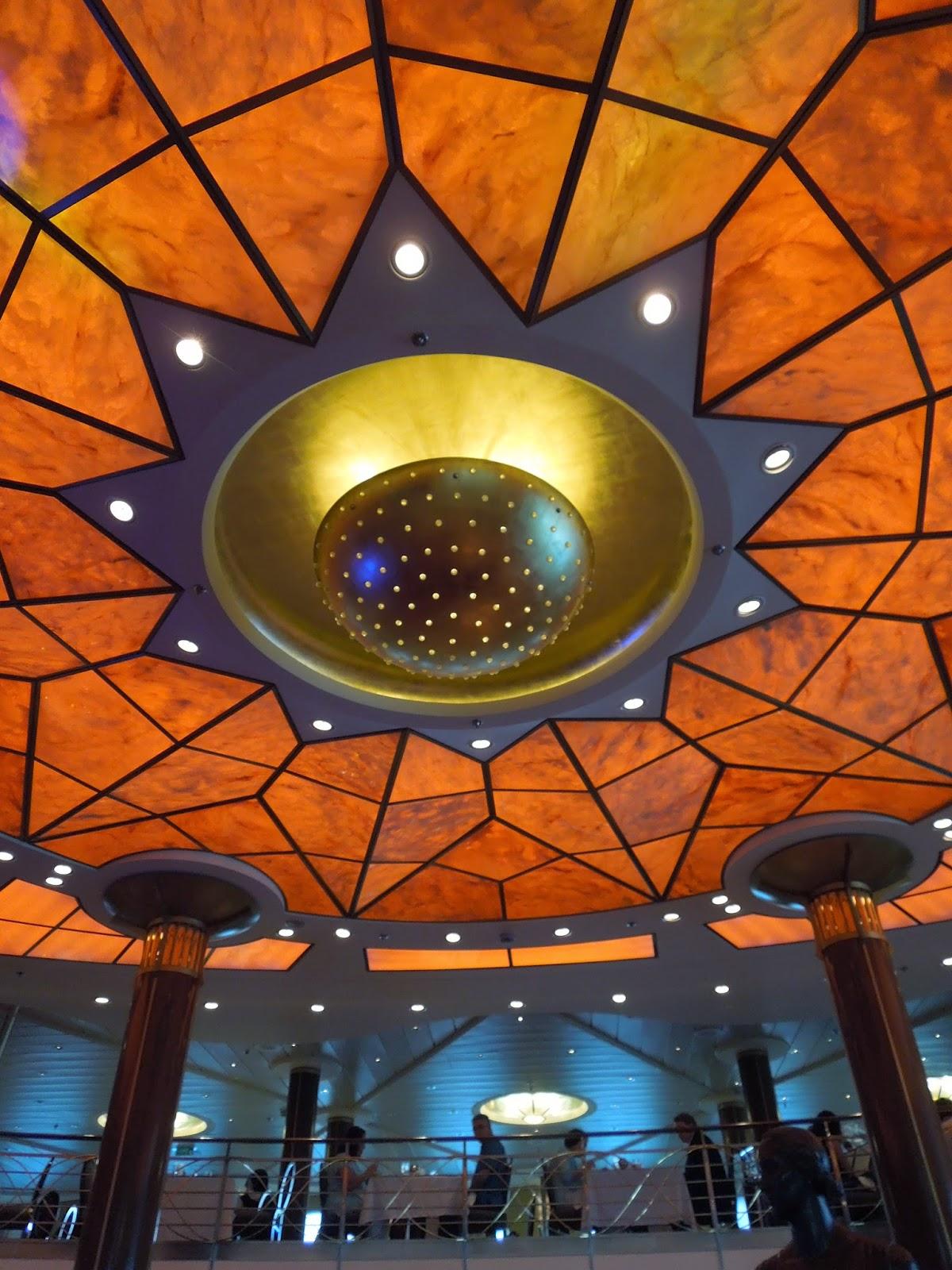 Cosmopolitan ceiling