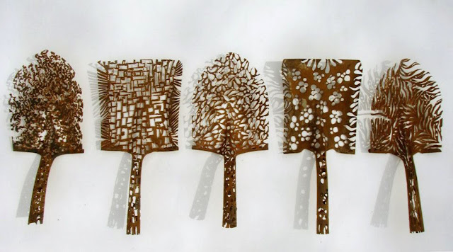 art from recycled materials
