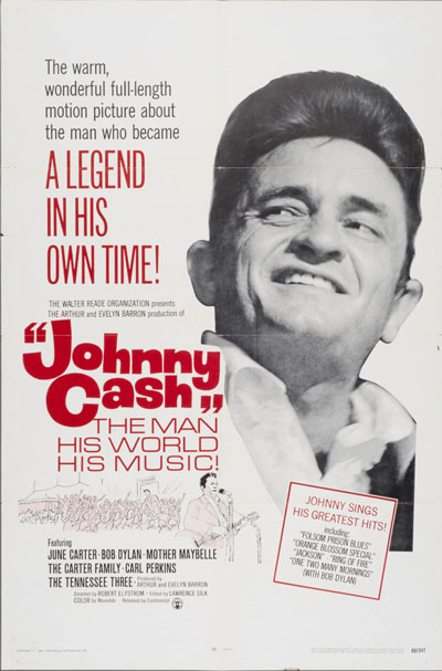 Johnny Cash: The Man His World His Music - Poster