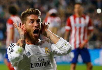 Sergio Ramos champions 2014 minuto 93