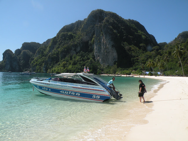 Speedboat on Koh Phi Phi
