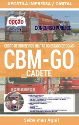 Apostila Bombeiros Goiás CBMGO 2016 - Soldado e Cadete