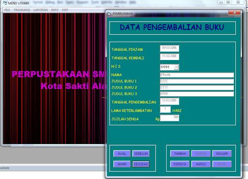 download program perpustakaan vb6,