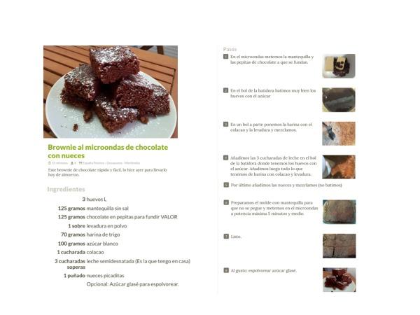 Compartir recetas paso a paso en Cookpad