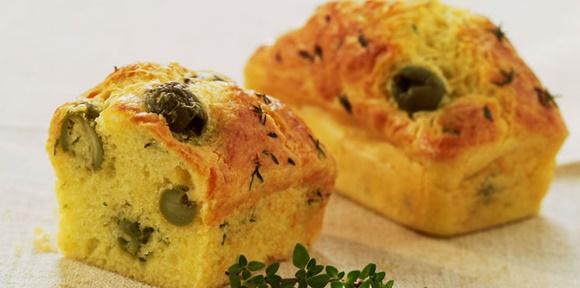 Cake Aux Olives Rapide