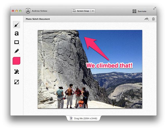 ـ كيفية عمل شروحات على الصور باستخدام برنامج Skitch skitch-mac3.png
