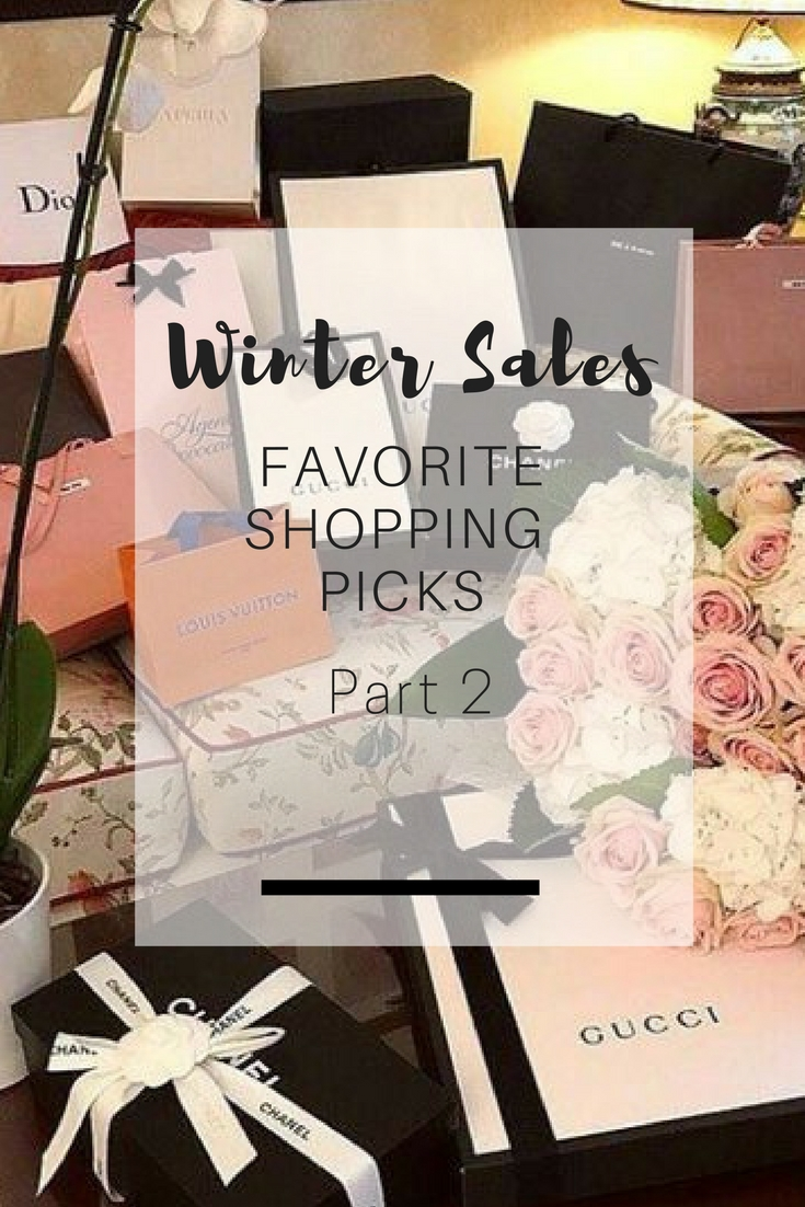 Winter sales shopping picks - Ioanna's Notebook