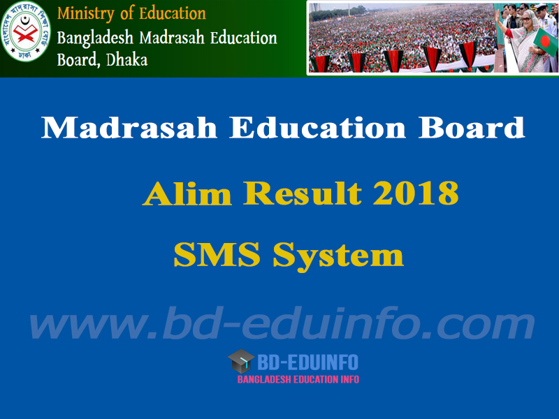 Madrasha Board Alim Result 2018