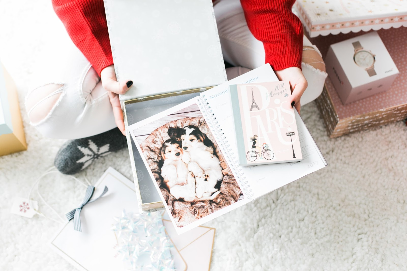 Bijuleni - Holiday Gift Guide For Her With Holt Renfrew Centre - Puppies Calendar for the Boss girl