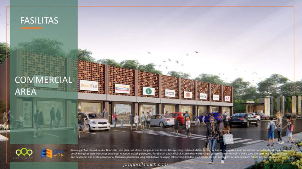 commercial area - ruko Citaville Parung