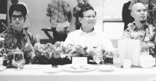 Al Ghazali Duduk Bareng Prabowo, Ahmad Dhani Sebut Semua Jagoannya Anti Ahok