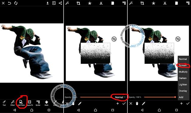 tutor picsart Cara Mudah Membuat Efek Disintegrasi mudah