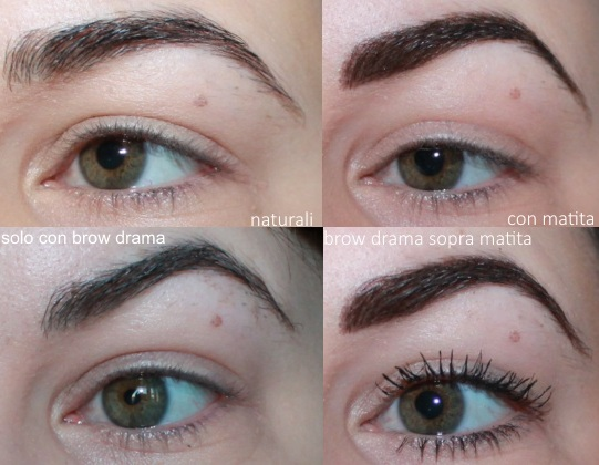 brow drama maybelline recensione