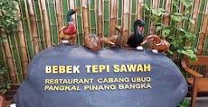 Menu dan Harga Bebek Tepi Sawah Cabang Ubud Pangkalpinang Bangka