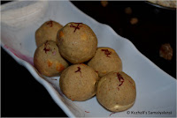 OATS LADDU USING PALM CANDY RECIPE /HOW TO MAKE OATS URUNDAI