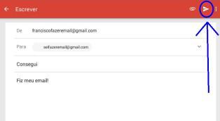 Como enviar email Gmail pelo telefone