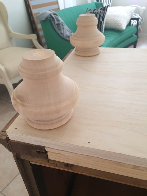 adding legs to furniture, adding feet to furniture, customized furniture, awesome furniture makeovers