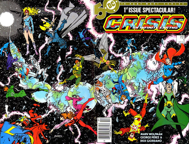 Crisis on Infinite Earth #1