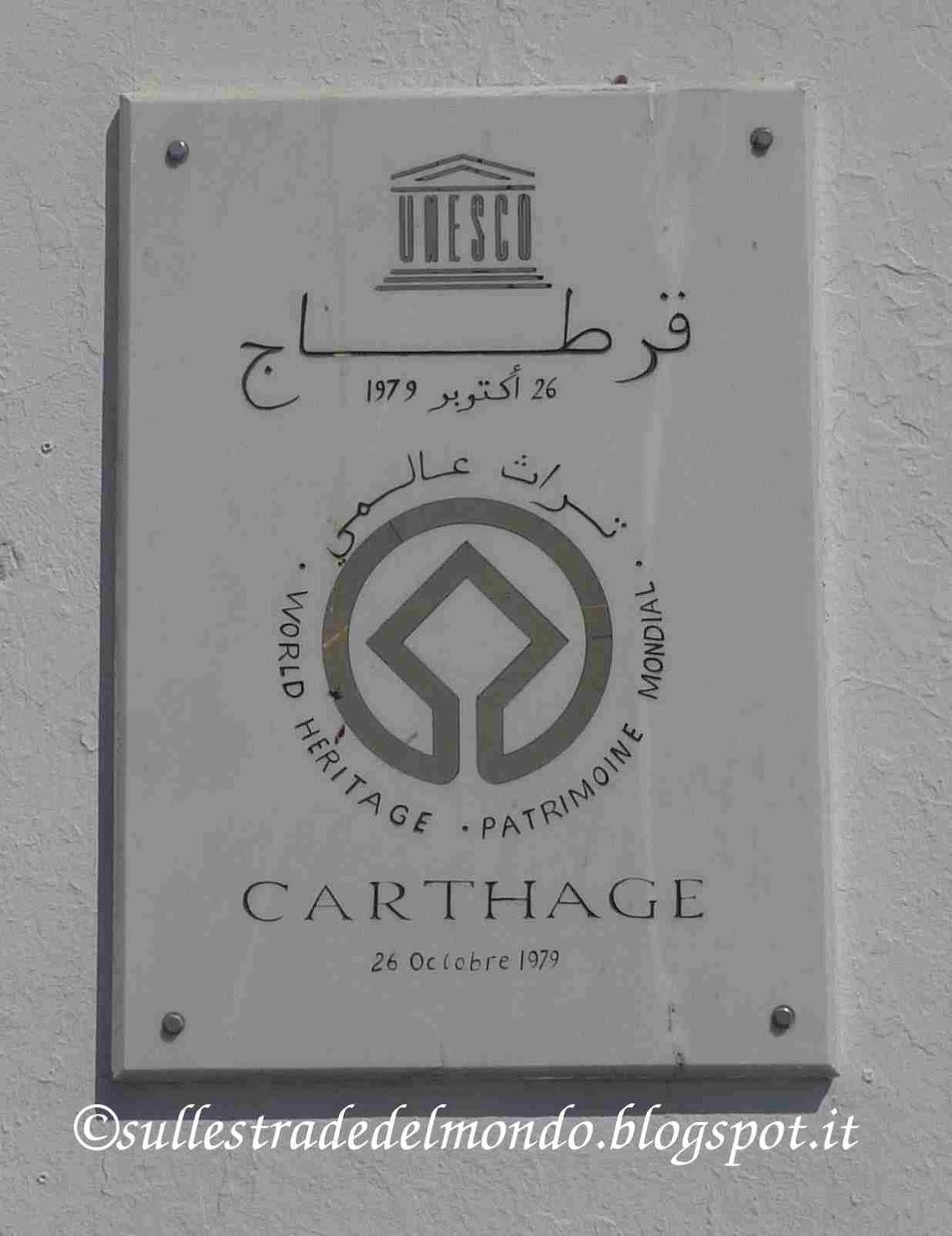 cartagine Unesco