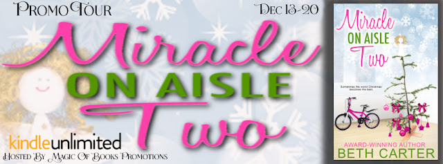 PROMO TOUR -  MIRACLE ON AISLE TWO by Beth Carter