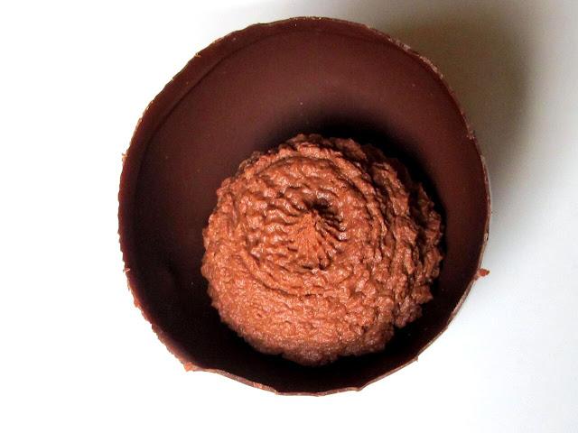 Demi-sphères et mousse au chocolat