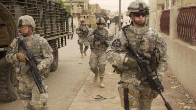 soldados estadounidenses en guerra