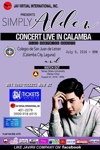 Simply Alden - Alden Richards Concert for a Cause in Laguna