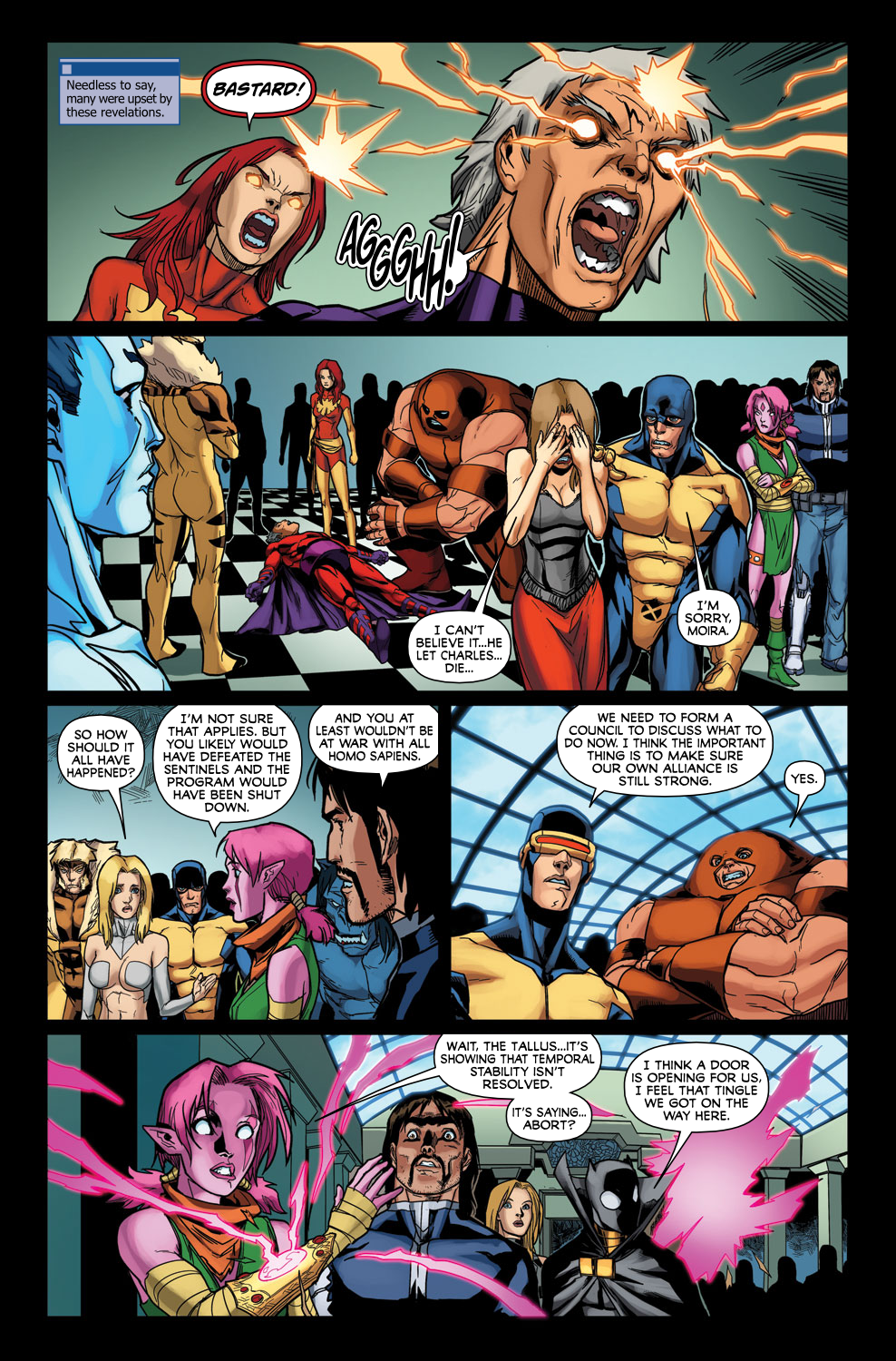 Read online Exiles (2009) comic -  Issue #3 - 17