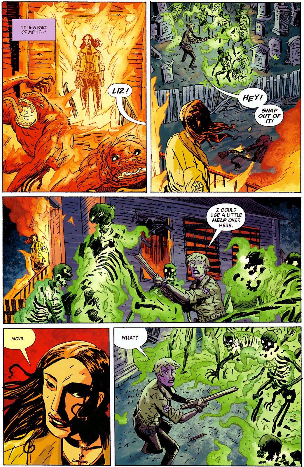 Read online B.P.R.D., Plague of Frogs comic - Issue #4