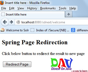 redirectpage