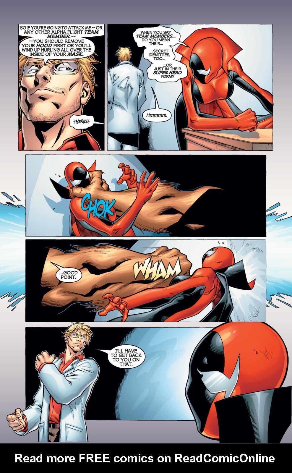 Read online Alpha Flight (2004) comic -  Issue #1 - 11