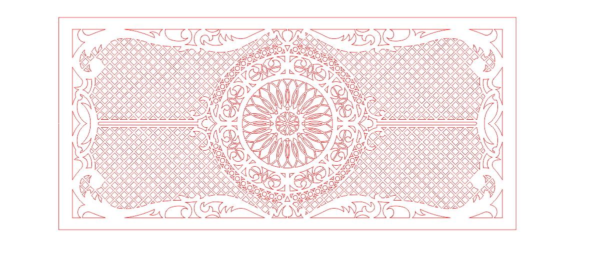 Grid Design Vector Free Download Design 01 DXF