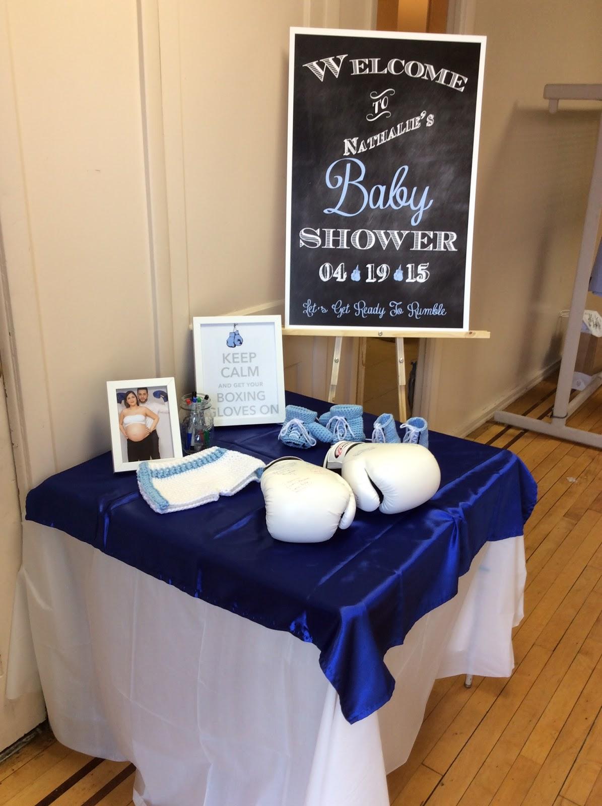 The Small World Of Jennifer Idellise Boxing Baby Shower