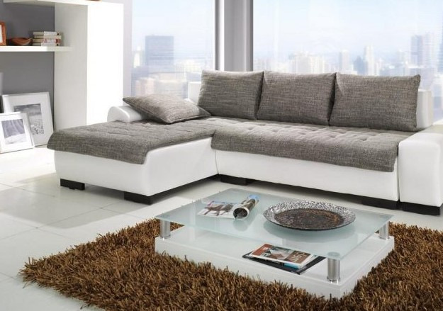 Casual Glass Table In Living Room