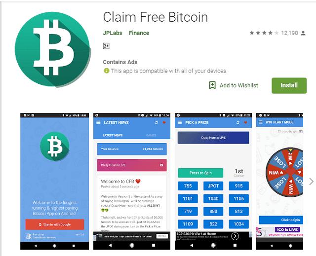 Cara Mendapatkan Bitcoin Gratis Khusus Android