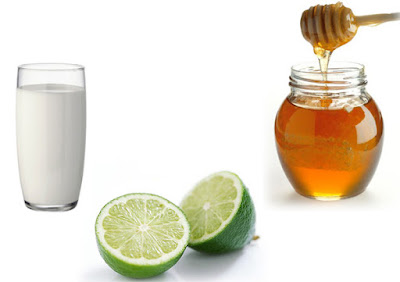 Làm trắng da toàn thân nhờ hỗn hợp sữa tươi-chanh-mật ong