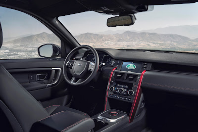 interior Land Rover Discovery 2017