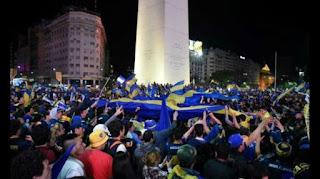 Festejos de Boca Juniors Campeón