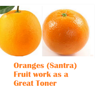 Health benefit of orange santra fruit Oranges (Santra) Fruit - Oranges (Santra) Fruit work as a Great Toner