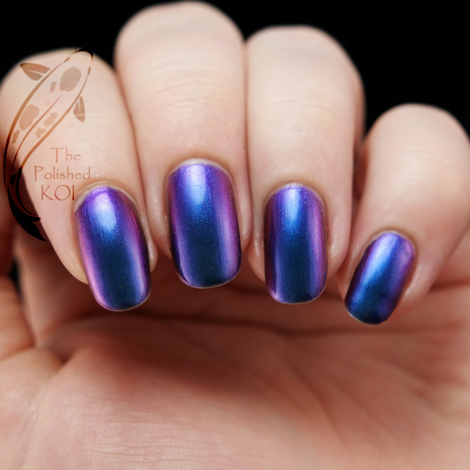 The Polished KOI: Swatch & Art: KBShimmer - Shade Shifter