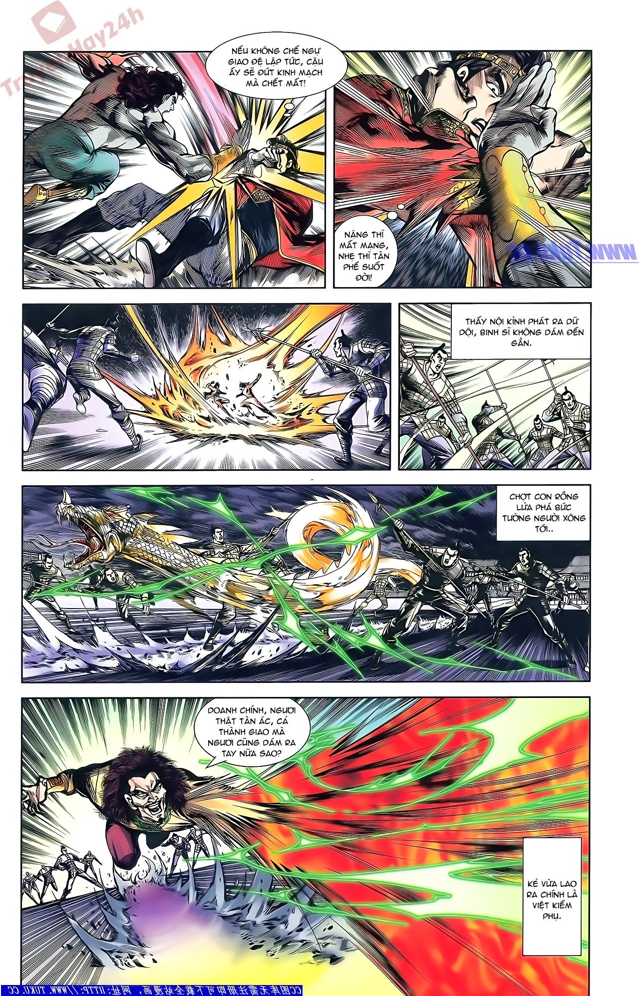 Tần Vương Doanh Chính chapter 51 trang 4
