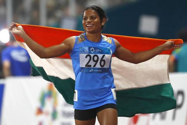 dutee-chand-bags-second-asian-games-medal-wins-100m-silver