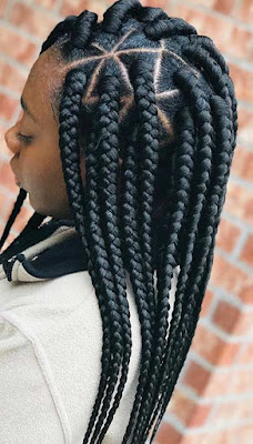 Braided hairstyles are a piece of art and our next choose proves that 19+ Afro Braid Hairstyles Ponytails with Weave That Will Attract Beauty