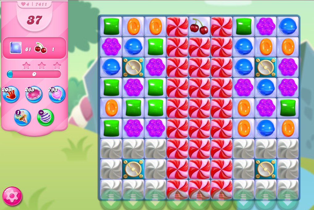 Candy Crush Saga level 7411