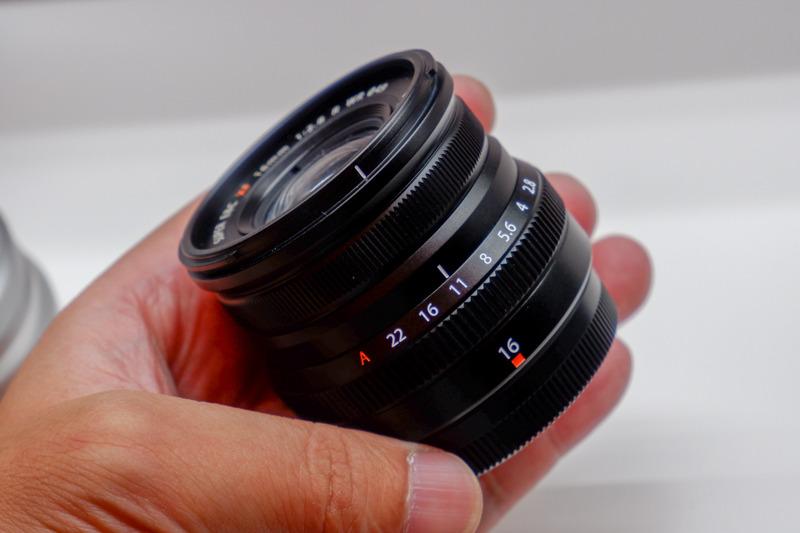 Объектив Fujinon XF 16mm f/2.8 R WR