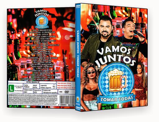 CAPA DVD – Vamos Tomar Todas Juntos – ISO